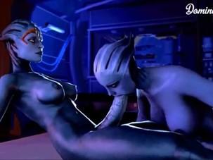Mass Effect-Samara GIF..