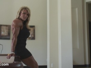 AR smoking hot muscle MILF