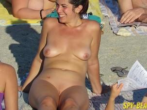Voyeur Amateur Nude Beach MILFs..