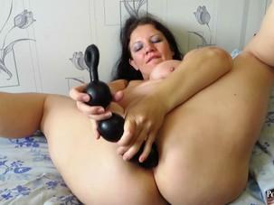balls in the ass mature aunt
