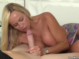 Old and milf blowjob