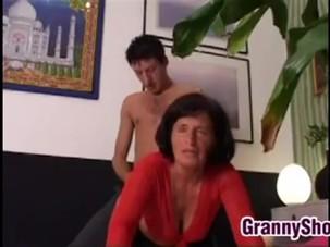 italian granny Lory gets..
