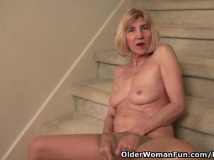 Skinny grandma Bossy Rider gets..