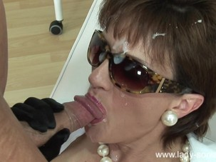 Lady Sonia Cumshot compilation..