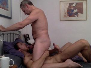 Daddy Son Amateur Bareback Flip..