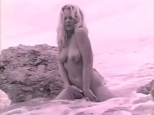 Nikki Tyler.Alone on Beach