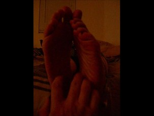 Cell Phone foot tickle