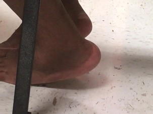 Candid Mature Feet Of My Ebony..