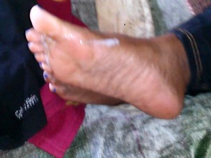 friends MOM footjob update *