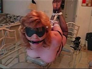 Milf Monica bound and gagged