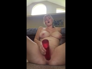 Housewife Monique toying and..