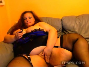 Hot ssbbw lady play herself big..