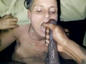 Sweet loving facial BBC mature..