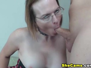 Mature Shemale Gets Titty..