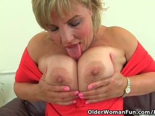 British milf Danielle will let..