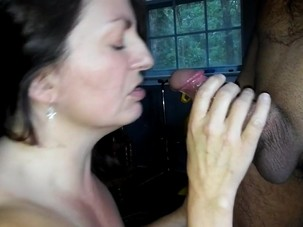 From ass to mouth with my cum..