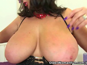 British milf Lulu Lush is..