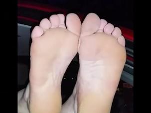 Random mature soles and sniff