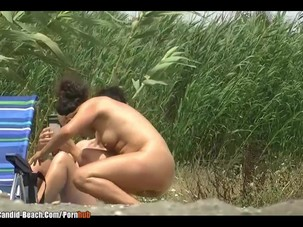 Nude beach Milfs Voyeur video..